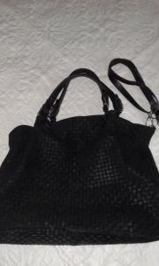 Leder-Handtasche Shopping
