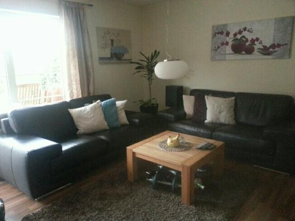 Ledercouch schwarz kaufen  Ledercouch schwarz in Mannheim - Polster, Sessel, Couch kaufen und ...