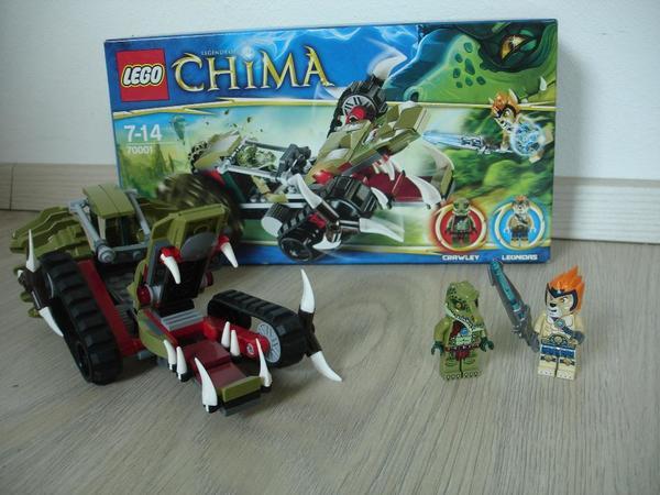 LEGO 70001 Chima Crawleys Reptiliengreifer