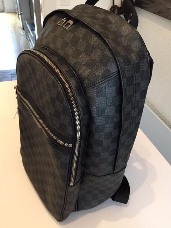 louis vuitton rucksack michael damier graphite canvas in berlin taschen koffer accessoires. Black Bedroom Furniture Sets. Home Design Ideas