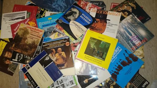 LPs Schallplattensammlung zvk ca 8