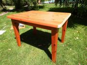 Massivholztisch, ausziehbar, Kiefer