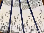 Metallica, 4 Tickets,