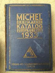 Michel Briefmarkenkatalog 1933