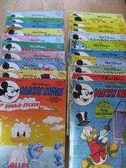 Micky Maus Hefte 1980 - 1990