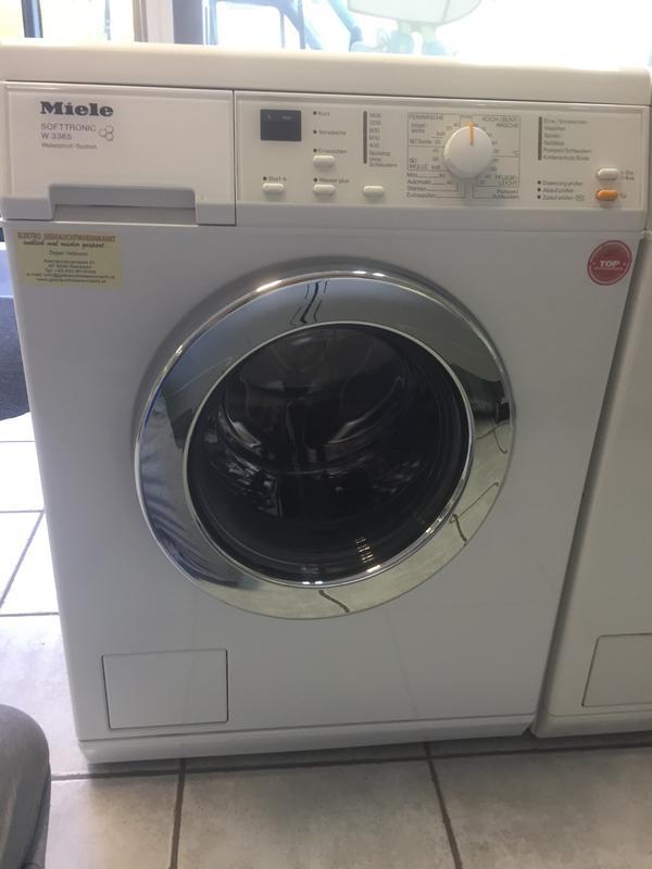 miele softtronic w3365 in rankweil waschmaschinen kaufen. Black Bedroom Furniture Sets. Home Design Ideas
