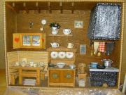 Miniatur-Bauernküche