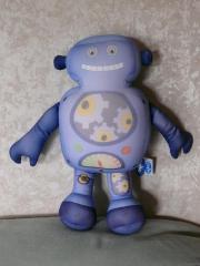 Mio Roboter Kissen blau von
