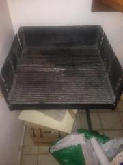 mobiles Grill mit