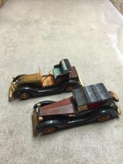 Modellautos Holz Oldtimer,