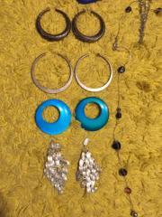 Modeschmuck gemischt 12 Paar Ohrringe