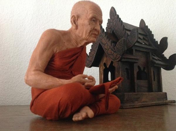 Mönch Long Phu Toud sehr