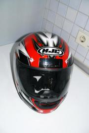 Motorradhelm HJC Gr M mehrfarbig