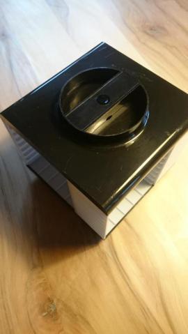 CDs, DVDs, Videos, LPs - Musikkassettenrondell Kassettenwürfel 70er mit Musikkassetten