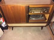 Musiktruhe Vintage 50 er Jahre