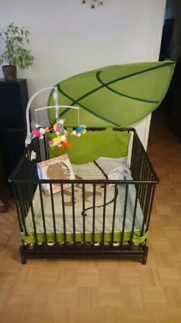 neu geuther laufstall odenw lder babynest musik mobile baby fehn etc in mannheim laufst lle. Black Bedroom Furniture Sets. Home Design Ideas