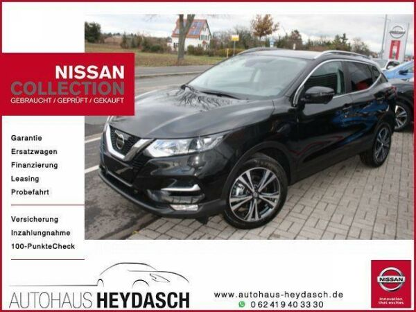 nissan qashqai n-connecta tageszulassung panorama in worms - nissan