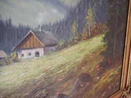 Bild 4 - Öl auf Holz - Bad Dürkheim