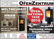 OfenAKTIONStage 2016 - Kaminofen