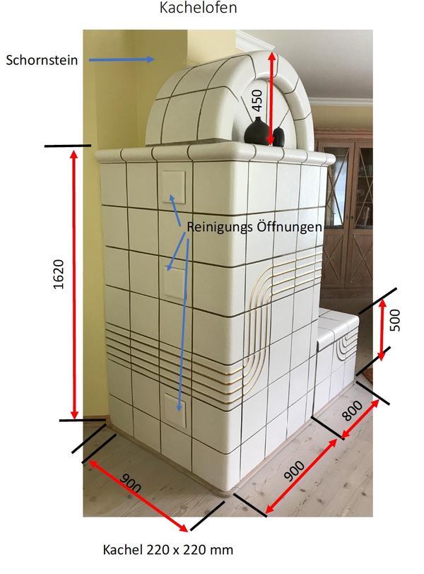 Ofenkacheln / Kachelofen zum » Öfen, Heizung, Klimageräte
