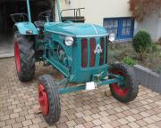 Oldtimer-Traktor Hanomag