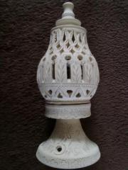 orientalisches Windlicht , Kerze ,