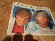 Original Retro BRAVO Autogrammkarte Modern