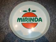 Original Retro Tablett MIRINDA Kunststoff