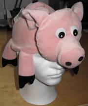 Partymütze Schwein - ungetragen mit 4
