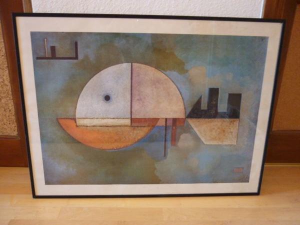 Paul Klee - München - Paul KleeGröße 81x61 cm, gerahmt, gute Qualität.Selbstabholung bevorzugt - München