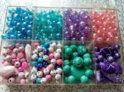 Perlen zum aufziehen,
