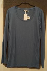 Petrolfarbenes Damen-Shirt Gr L