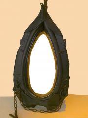 Pferdekummet mit Spiegel