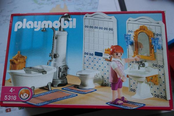 Toll Playmobil Badezimmer Mit Wanne 5318   Komplett In Kelkheim, Badezimmer Ideen