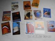 Postkarten von Schifffahrtslinien