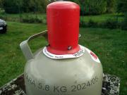 Propan Gasflasche 5 KG gefüllt