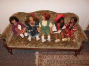 Puppen-Sofa antik !