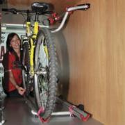 Radträger für Wohnmobil