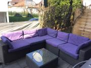 Rattan Gartenmöbel Lounge