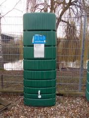 Hervorragend Regenwasser Wandtank Slim 650 Liter grün 4Rain in Lampertheim  DQ63