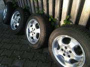 Reifen auf Alufelgen