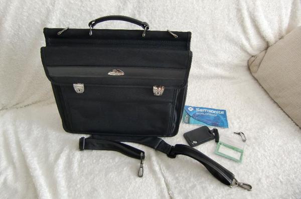 Samsonite Desklite Aktentasche mit Laptopfach