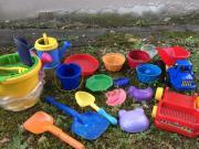 Sand-Spielzeuge