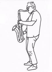 Saxophonist (Tenor, Alt)
