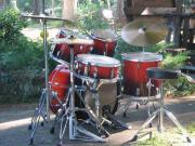 Schlagzeug schönes Drumset