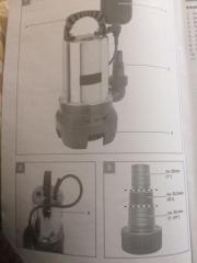 Schmutzwasserpumpe (Wingart SWP 5225) neu in Originalverpackung gebraucht kaufen  Berlin Heiligensee