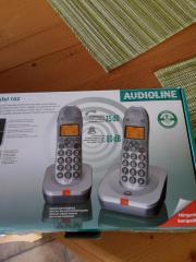 Schnurloses DECT-Verstärker-Telefon-Set