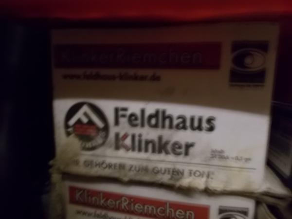 Schöne Feldhaus Klinker RiemchenRest In Dortmund Fliesen - Fliesen kaufen dortmund