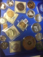 schöne Medaillen und