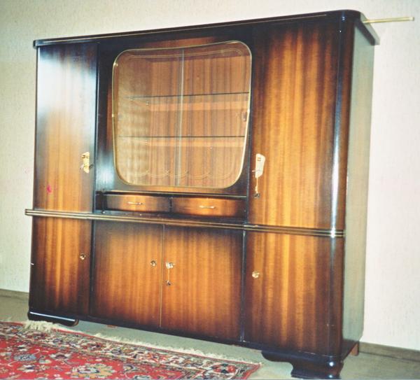 schr nke vitrinen m bel wohnen leimen baden. Black Bedroom Furniture Sets. Home Design Ideas